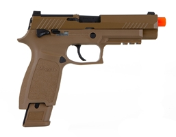 AIRSOFT PROFORCE 6MM PLASTIC BB M17 COYOTE TAN C02 POWER SOURCE