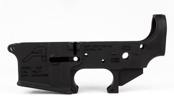 AR15 Stripped Lower Receiver, Gen 2 - Anodized Black