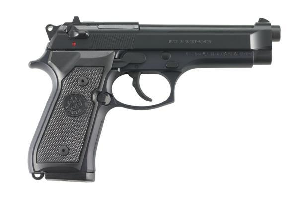 "M9 Commercial, 9mm, 15, 4.90"", Bruniton/Plastic"