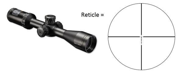 AR Optics Riflescope 4.5-18X40