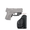 Red Laserguard with Blade-Tech IWB Holster for Springfield Armory XD-S