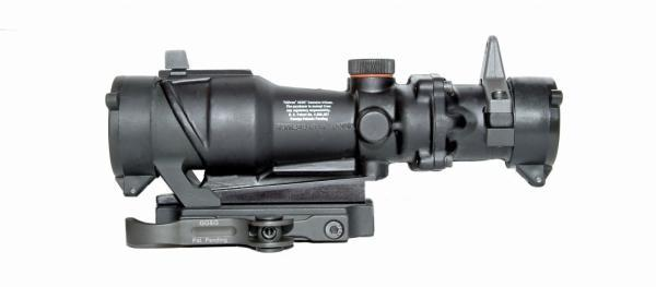 ACCUCAM Quick Detach ACOG Mount With Integral Lens Covers