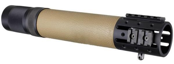 AR15 Rifle Length Free Float Forend FDE