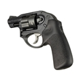 Ruger LCR No Finger Groove Rubber Tamer Cushion Grip Black