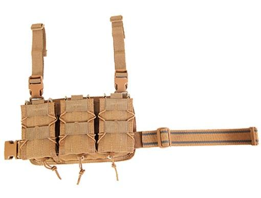 Rifle Leg Rig, Coyote Brown