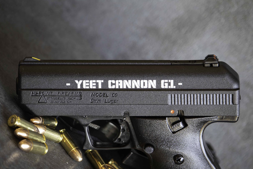 Hi-Point C9 Yeet Cannon 9mm Pistol