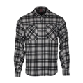 Logger Flannel Woven Shirt, New Charcoal