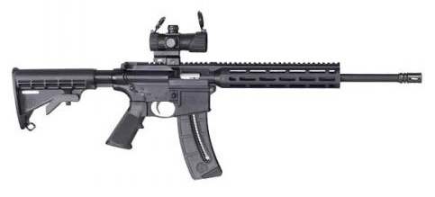 M&P®15-22 SPORT™ OR w/ M&P® Red/Green Dot Optic 25 Rounds m&p rifle, m&p, smith & wesson rifle, m&p sport, m&p ar15