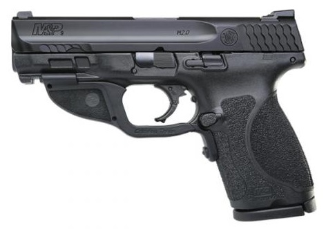 M&P 2.0 COMPACT 9MM W/ CRIMSON TRACE GREEN LASER (2) 15RD MAGAZINES