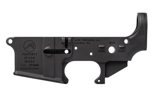 M16A4 Clone Lower- Anodized Black aero precision, m16a4 clone lower, aero precision stripped lower,