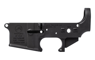 M4A1 Clone Lower- Anodized Black aero precision, m4a1 clone lower, aero precision stripped lower,
