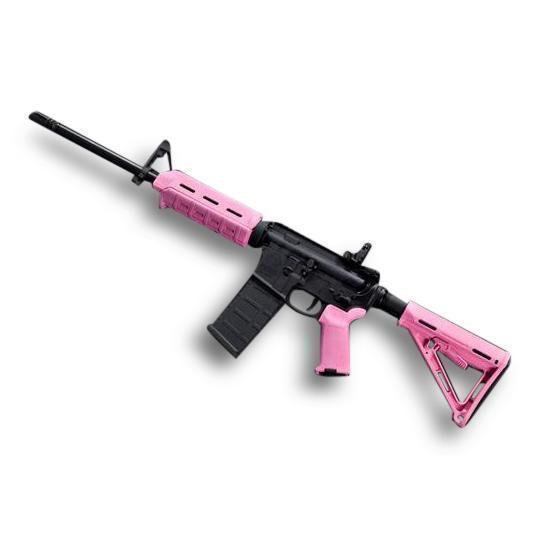 Magpul Moe M Lok Milspec Pink Ar Kit