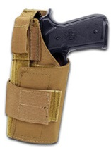 Modular Universal Holster Coyote Left Hand