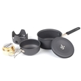 Mini Cookware Kit W/Alcohol Burner