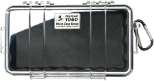 1060 Micro Case Black with Clear Lid