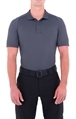 Mens Performance Short Sleeve Polo - Asphalt