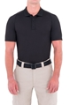 Mens Performance Short Sleeve Polo - Black