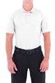 Mens Performance Short Sleeve Polo - White