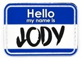 Jody PVC Patch