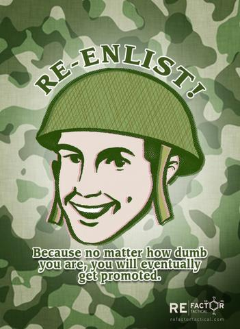 Re-Enlist Poster