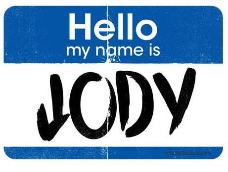 Jody Sticker