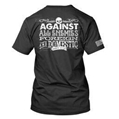 T-Shirt - Against All Enemies, Black