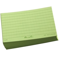 All Weather Index Cards (100 Pack) Green