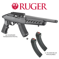 Ruger 22 Charger Takedown Pistol Combo Ruger 22 charger, 22 charger, ruger 22 pistol, ruger 22 charger takedown, takedown 22