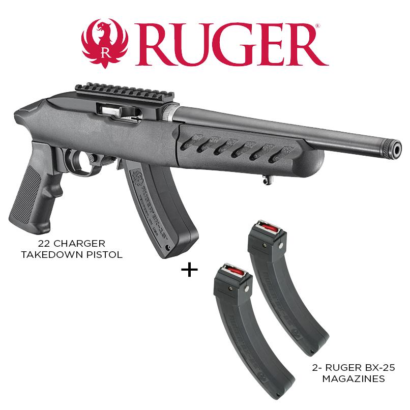 Ruger Ruger 22 Charger Takedown Pistol Combo Rug 4924