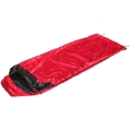 SNUGPAK Travelpak Sleeping Bag - Red LH ZIP