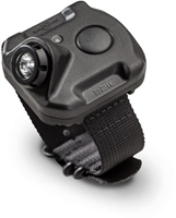 2211 COMPACT WRIST LIGHT, RECHARGE LIPO, 300/60/15 LU, BLACK POLYMER