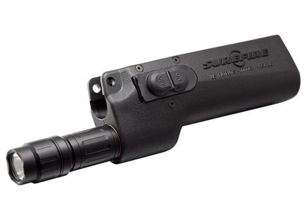 DEDICATED SMG FOREND, 6V, MP5, 1000 LUMENS, BLACK, MOMENTARY/CONSTANT ON MODES
