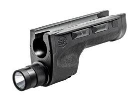DEDICATED 6V SHOTGUN FOREND FOR REMINGTON 870; INCLUDES AMBIDEXTRIOUS MOMENTARY/CONSTANT ON SWITCHES, DISABLE ROCKER SWITCH, ISOLATED SELECTOR SWITCH FOR HIGH (600 LUMENS) & LOW (200 LUMENS) OUTPUT MODES
