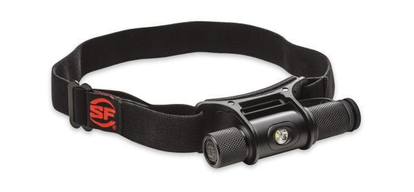 HEADLAMP, SAINT MINIMUS, M VISION, 3V, 5-300 LU LED, INCL. RED FILTER, HARD ANODIZE BLACK