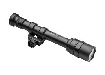 SCOUT LIGHT, 3V, TWO AA, M75 THUMB SCREW MOUNT, 200 LUMENS, Z68 CLICK ON/OFF TAILCAP ONLY, BLACK