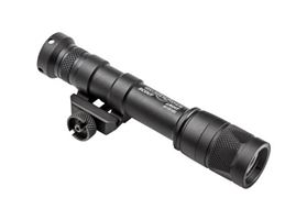 SCOUT LIGHT, 6V, VAMPIRE WITH WHITE/INFRARED LEDS, M75 THUMB SCREW MOUNT, 350 LUMENS/120mW, BLACK, CLICK ON/OFF TAILCAP