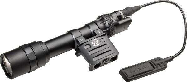 SCOUT LIGHT, 6V, ULTRA 1,000 LUMENS, RM45 MOUNT, BLACK, WITH DS07 DUAL SWITCH ASSEMBLY