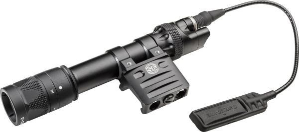 SCOUT LIGHT, 6V, VAMPIRE, RM45 MOUNT, 350 LUMENS/120MW, BLACK, WITH DS07 SWITCH ASSEMBLY