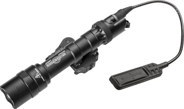 SCOUT LIGHT, 6V, ULTRA 1,000 LUMENS, ADM MOUNT, BLACK, WITH DS07 DUAL SWITCH ASSEMBLY