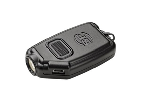 COMPACT POCKET LIGHT, RECHARGABLE BATTERY, 5/60/300 LU, BLACK POLYMER