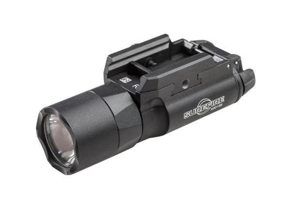X300 ULTRA WEAPON LIGHT, 6V, UNIVERSAL/PICATINNY THUMB SCREW RAIL MOUNT, 1,000 LUMENS, BLACK, Z-XBC PUSH/TOGGLE SWITCH