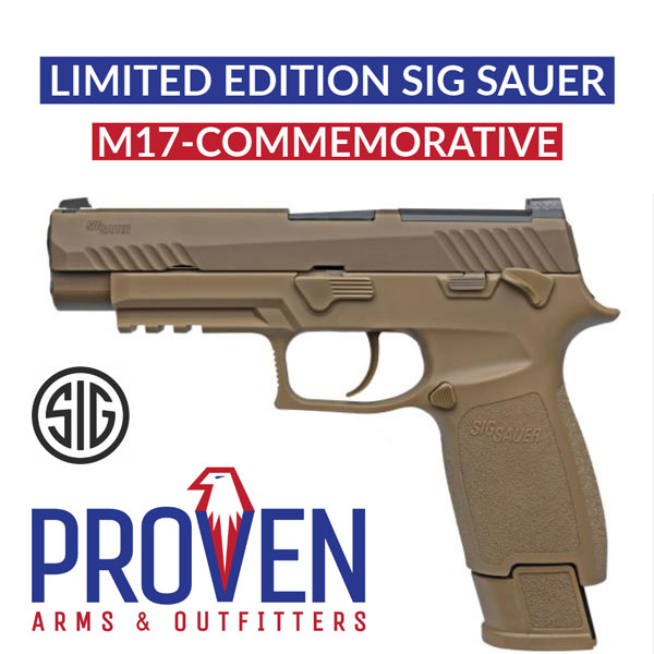 Sig Sauer P320 M17 Commemorative 9mm