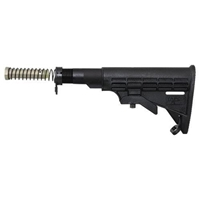 Mil-Spec AR T6 Stock Assembly Black