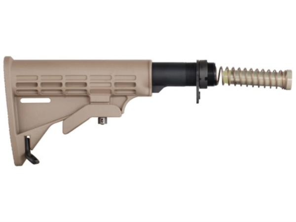 Mil-Spec AR T6 Stock Assembly Dark Earth