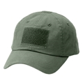 Contractor Cap - Twill Front, Top And Rear Loop For Patches Od Green One Size
