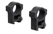 30mm Riflescope Extra High Aluminum Rings