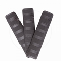 "Rail Covers, 6.2"" 3-Pack, Black"