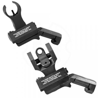 Offset Sight Set, HK Front and Round Rear, Black