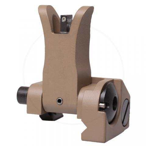 Front M4 Style Folding Sight FDE