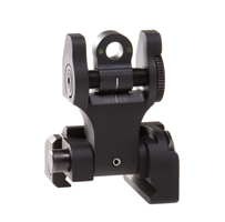 Rear Folding Sight, Tritium, Black